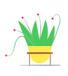 Illustration of flowerpot