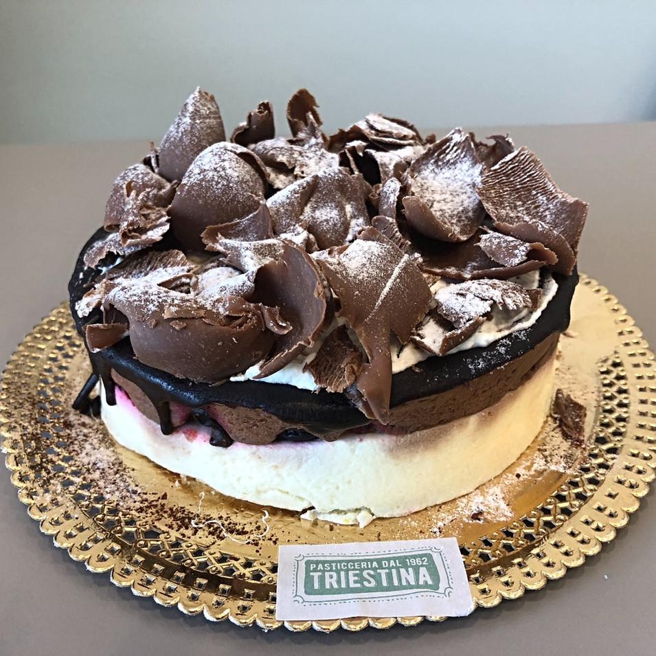 Semifreddo vaniglia e cioccolato fondente