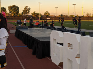 Portable Stage 8'  x 20' (2' High)