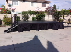 Portable Stage 16' x 20' (3' High)