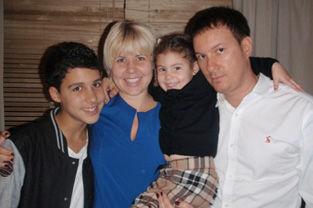 Marcelo, Fabiana, Yasmin and Rodrigo Virginio