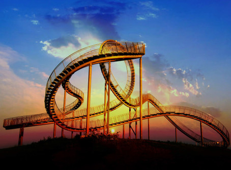 The roller-coaster ride of life