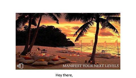 Manifest Your Next Levels