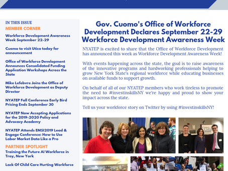Workforce Buzz | Issue 20 | September 23, 2019