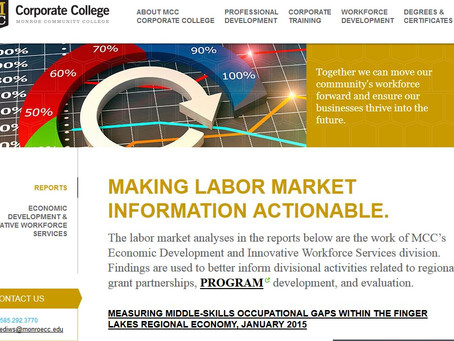 Putting Big Data to Work: MCC Measures Middle-Skills Occupational Gaps