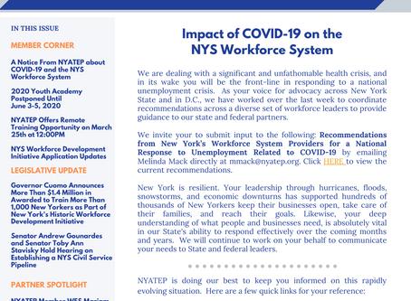 Workforce Buzz | Issue 6 | March 16, 2020