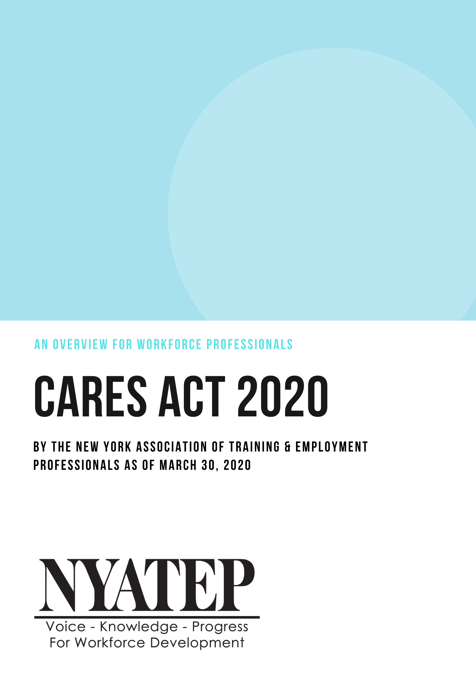 CARES Act Overview