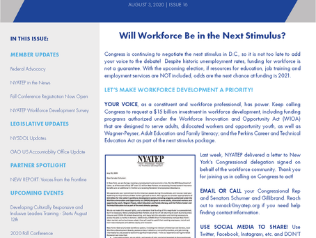 Workforce Buzz | Issue 16 | August 3, 2020