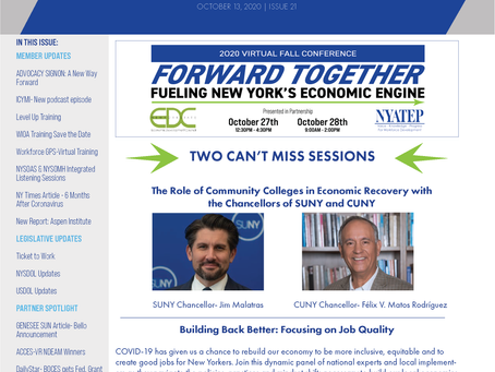Workforce Buzz | Issue 21 | October 13, 2020
