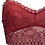 Thumbnail: Red Sexy Lace Crop Top Bralette