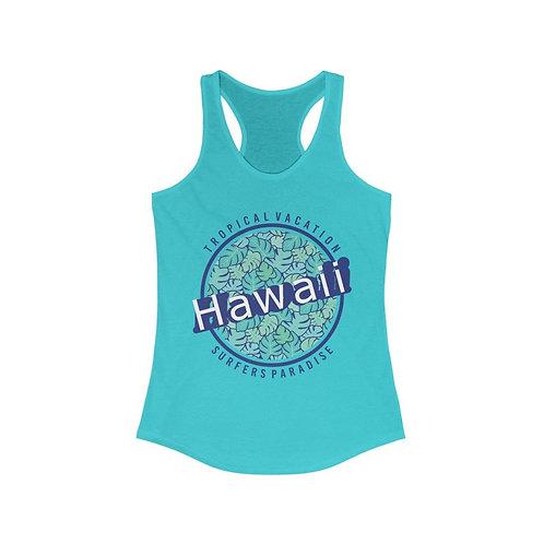 Hawaii Vacation Paradise Racerback Tank Top