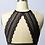 Thumbnail: Beautiful Scallop Lace Longline Bralette W/ Keyhole Back - 3 Colors