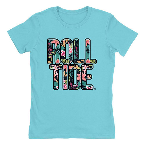 Official NCAA Alabama Roll Tide - Hawaiian Floral