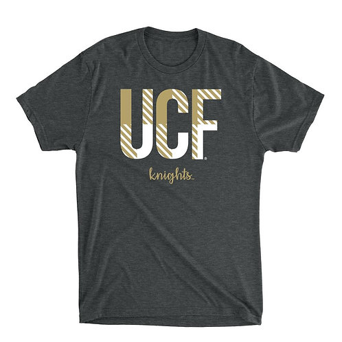 Official NCAA UCF Knights - RYLCF10 Mens / Womens Premium Triblend T-Shirt