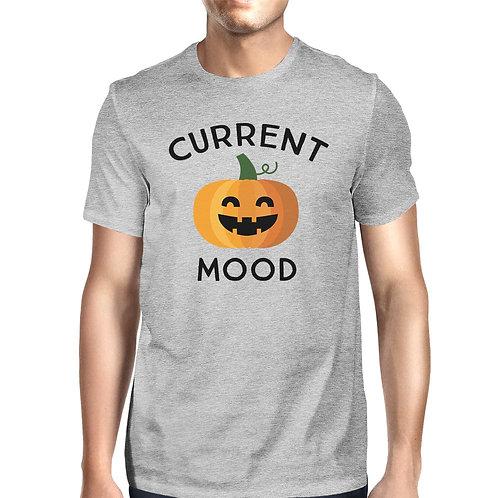 Pumpkin Current Mood Mens Grey Shirt