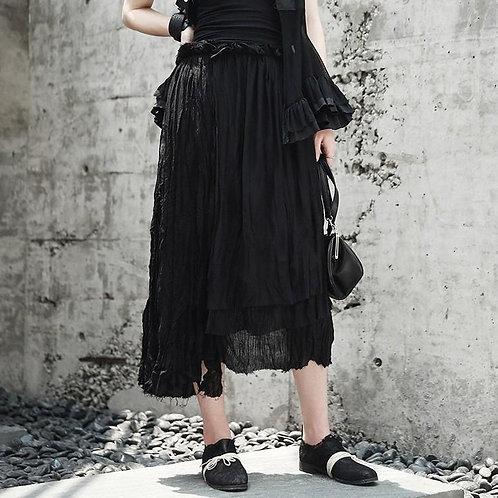 Zawameki Layer Skirt