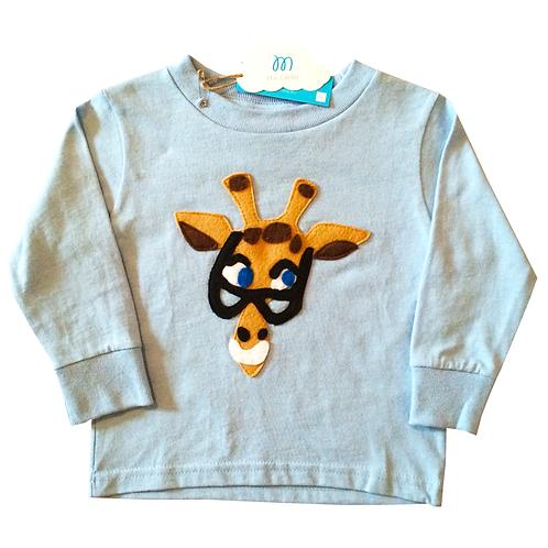 Kids Longsleeve T-Shirt - Mitford - Mi Cielo X Donald Robertson