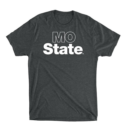 Official NCAA Missouri State  - PPMOU04 Mens / Womens Premium Triblend T-Shirt