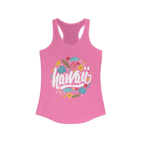 Hawaii Vacation Paradise Racerback Tank Top
