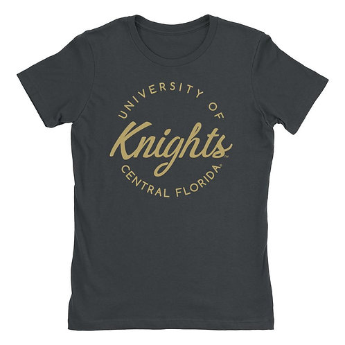 Official NCAA UCF Knights - RYLCF04 Womens Boyfriend Fit Tee