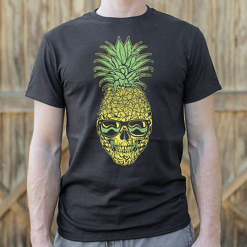 Pineapple Skull T-Shirt (Mens)