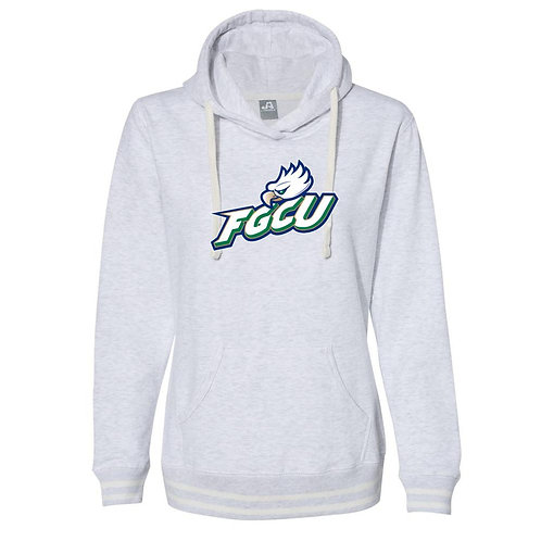 Official NCAA Florida Gulf Coast Eagles  Women's Hooded Pullover Sweatshirt