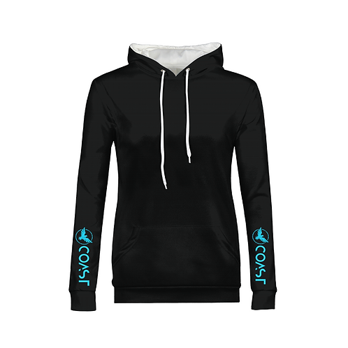 Women's Coastal Chic Long Sleeve Hoodie