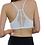 Thumbnail: White Sexy Seamless Geometric Back Bralette