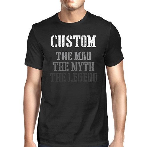The Man Myth Legend Cute Shirt for Grandpa Christmas Gift Idea for Grandfather