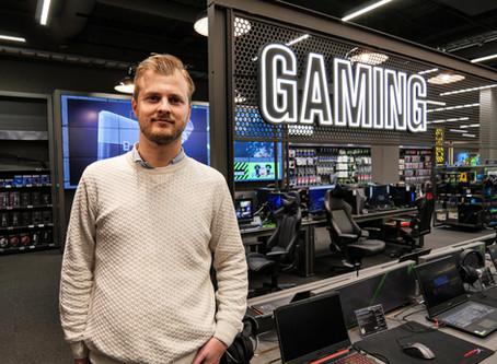 Gaming-entusiaster hos Elkjøp satser på e-sport i nasjonal skala