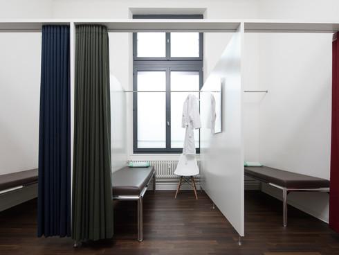 Ruhe- & Umkleidekabinen Chiropraktik Winterthur