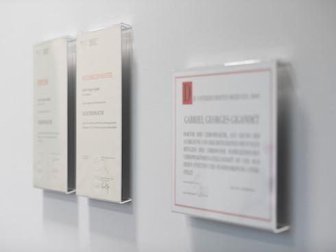 Diplome Chiropraktik Winterthur
