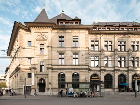 Eingang Chiropraktik Winterthur Hauptpost