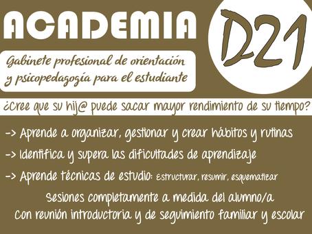 Academia D21. Empieza el año con buen pie