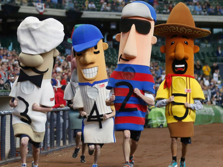 The (Hot) Dog Days of Baseball Season