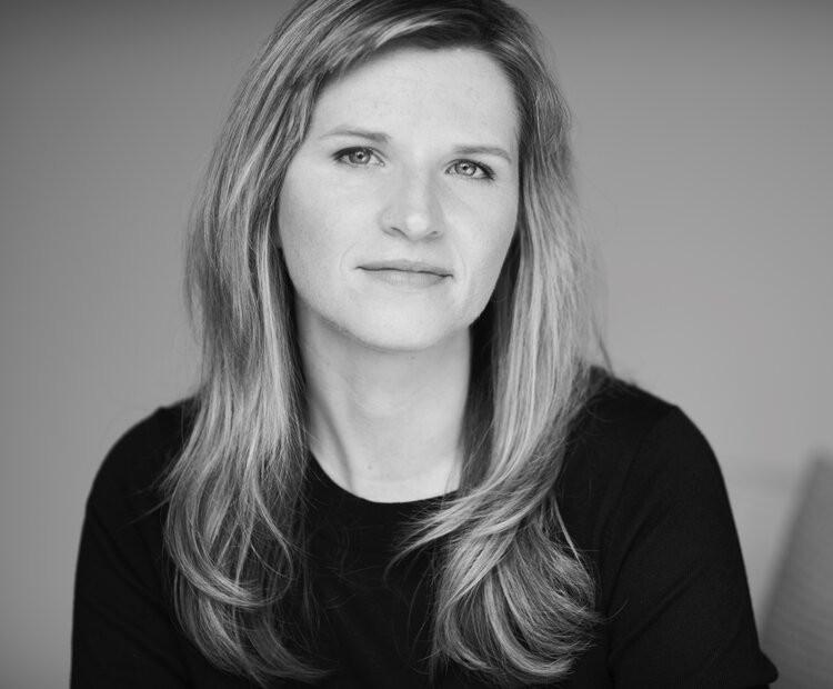 Black and white portrait of the author, Tara Westover