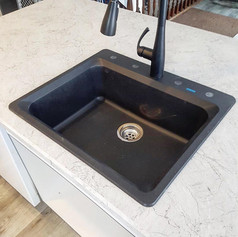 New Faucet and Sink Installation