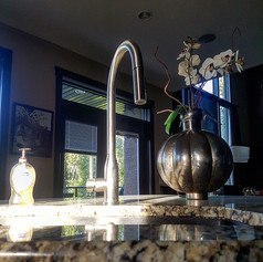New Faucet, Sink and Counter Installation
