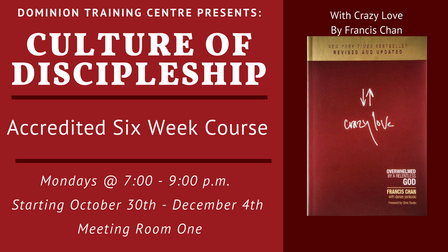 Culture of Discipleship December 2018