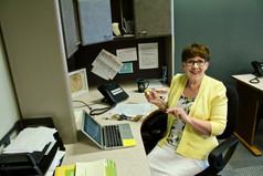 Jill Matis in her office at DBS