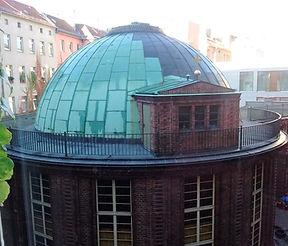 Blick auf den Elias-Kuppelsaal