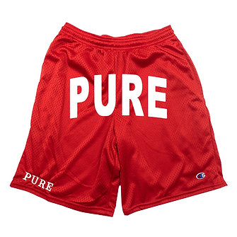 PURE ARC SHORTS RED