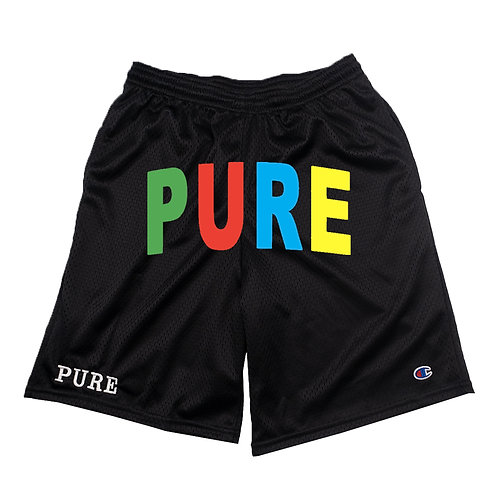 PURE ARC SHORTS BLACK