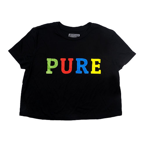 PURE TEE CROPPED