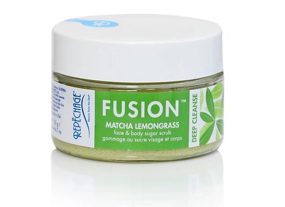 Repêchage® Fusion™ Matcha Lemongrass DEEP CLEANSE Face & Body Sugar Scrub