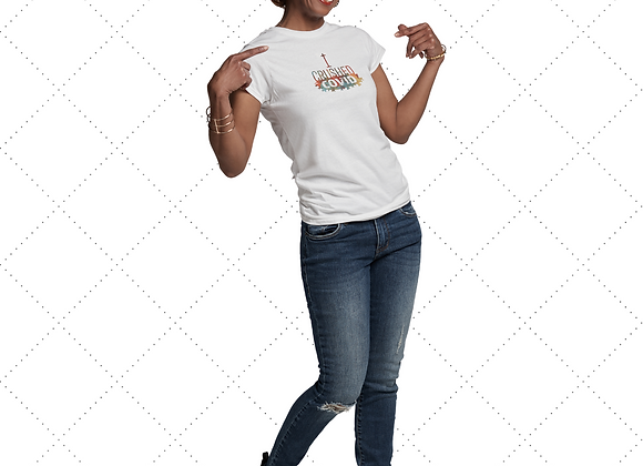 """I Crushed COVID"" T-Shirt Wholesale - Multicolor"