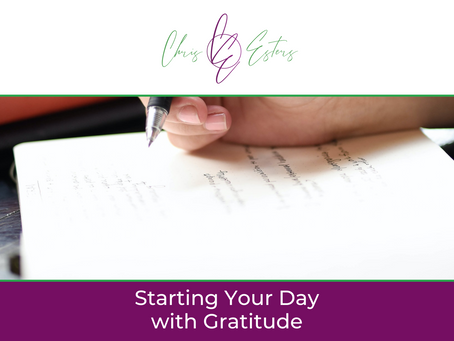 Starting Your Day with Gratitude