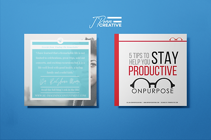 mockup-of-two-square-posters-against-a-f