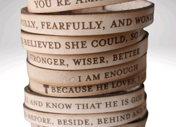 Stacked with Confidence Bracelets