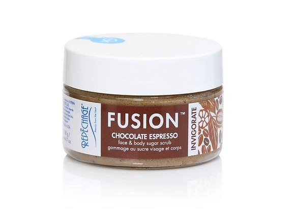 Repêchage® Fusion™ Chocolate Espresso INVIGORATE Face & Body Sugar Scrub